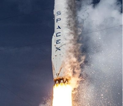 SpaceX. (Photo: Twitter/@SpaceX) by .