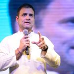 Pune: Congress President Rahul Gandhi interacts with students during an interactive session in Pune, Maharashtra on April 5, 2019. (Photo: IANS) by .