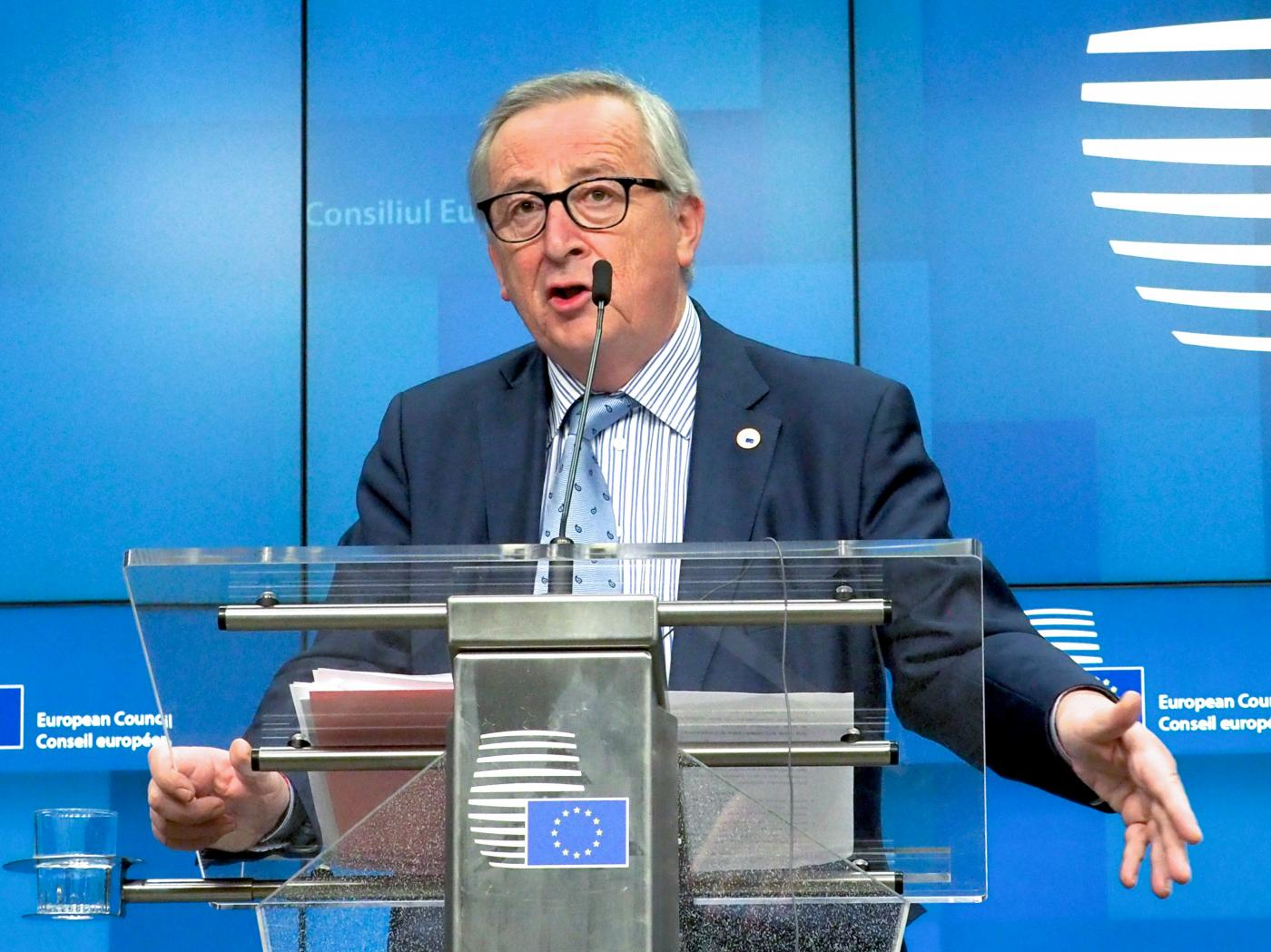 BELGIUM-BRUSSELS-EU-SUMMIT-PRESS CONFERENCE by European Union.