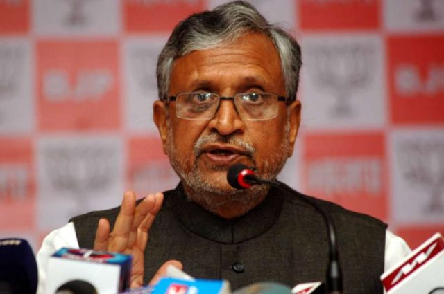 BJP leader Sushil Kumar Modi. (File Photo: IANS) by .