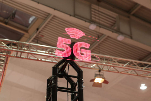 GERMANY-HANOVER FAIR-5G NETWORK by .