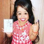 World's tiniest woman, actress and Guinness World Record holder Jyoti Amge by .