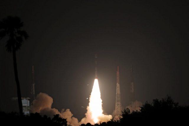 Sriharikota: Polar Satellite Launch Vehicle (PSLV) 44 carrying Defence Research and Development Organisation's (DRDO)