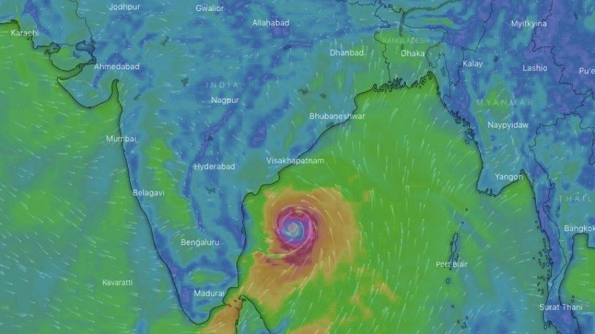 Cyclone Fani. (Photo: IANS/PIB) by .
