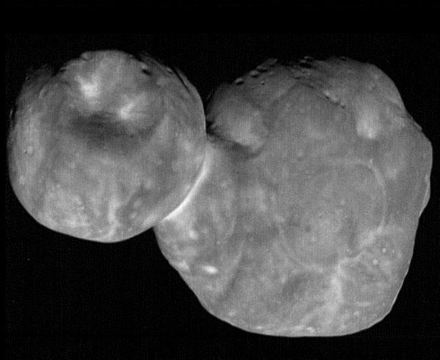 The new images of Ultima Thule was obtained just six-and-a-half minutes before New Horizons' closest approach to the object officially named 2014 MU69. by .