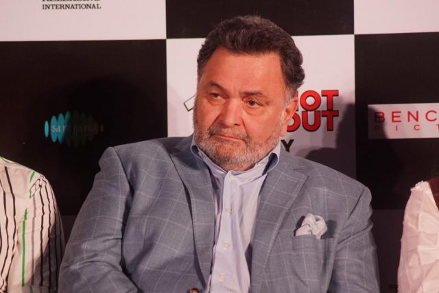 Mumbai: Actor Rishi Kapoor at the song launch of his upcoming film