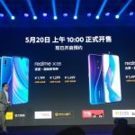Beijing: Realme Global CEO Sky Li addresses at the launch of Realme X and Realme X Lite smarphones in Beijing, China on May 15, 2019. (Photo: IANS) by .
