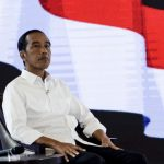 JAKARTA, March 30, 2019 (Xinhua) -- Indonesian presidential candidate and incumbent President Joko Widodo attends the fourth debate in Jakarta, Indonesia, March 30, 2019. Indonesia will hold its presidential election in April 2019. (Xinhua/Agung Kuncahya B/IANS) by .
