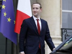 PARIS, May 10, 2019 (Xinhua) -- Facebook CEO Mark Zuckerberg leaves the Elysee Palace after a meeting with French President Emmanuel Macron in Paris, France, on May 10, 2019. (Xinhua/Jack Chan/IANS) by .