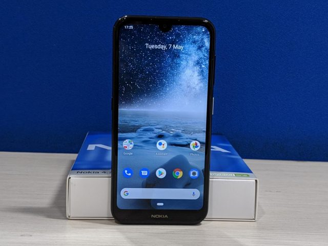HMD Global, the Finnish company that manufactures the iconic Nokia-branded phones, has unveiled Nokia 4.2 -- its first smartphone of 2019 which is a budget offering with noteworthy features such as a dedicated key to fire up Google Assistant. Priced at Rs 10,990, the phone is available in India in a single configuration of 3GB RAM and 32GB onboard storage. by .