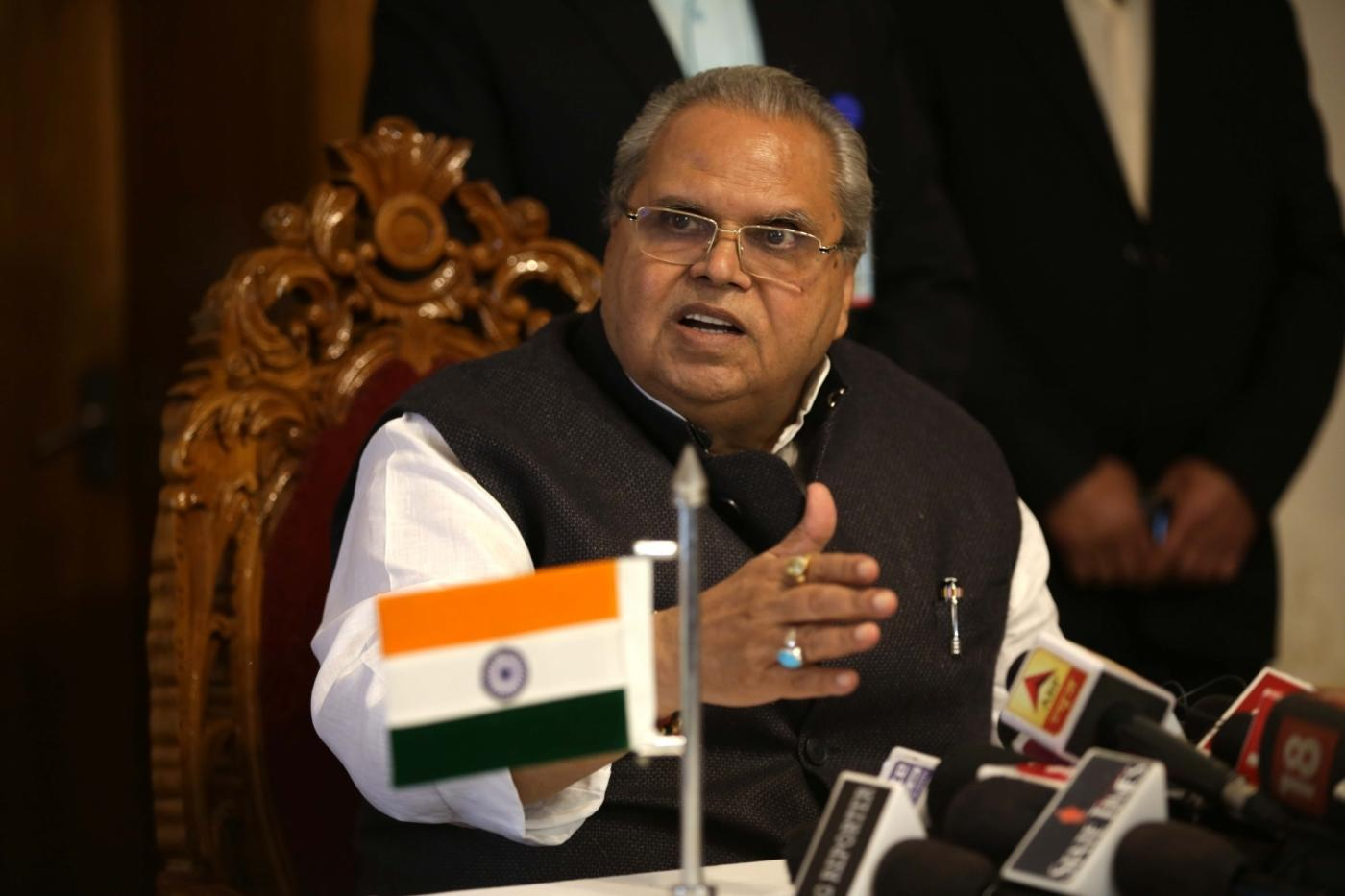 Satya Pal Malik. (File Photo: IANS) by .