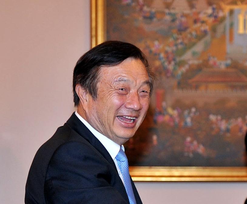 Ren Zhengfei, founder and CEO of Chinese tech giant Huawei. (File Photo: IANS) by .