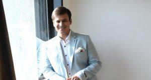"Mumbai: Actor Vivek Oberoi during a media interaction of his upcoming film ""PM Narendra Modi"", in Mumbai, on April 9, 2019. (Photo: IANS) by ."