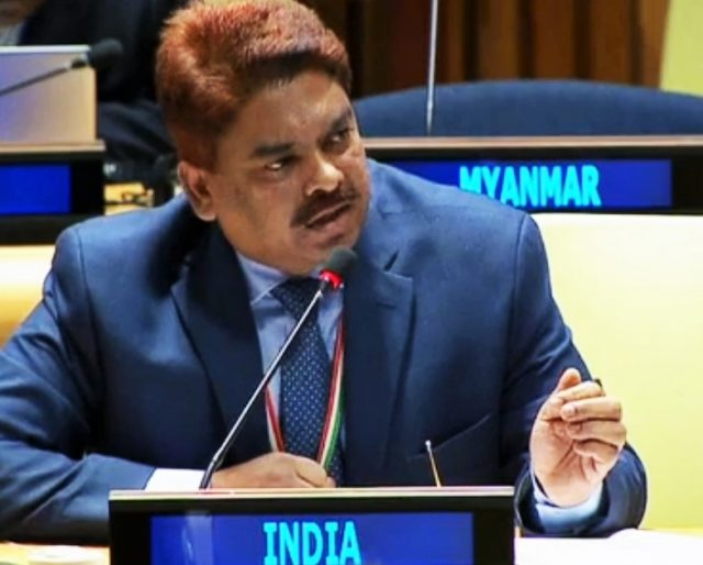 Anjani Kumar, Counsellor in the Indian Mission to the United Nations. (Photo: UN/IANS) by .