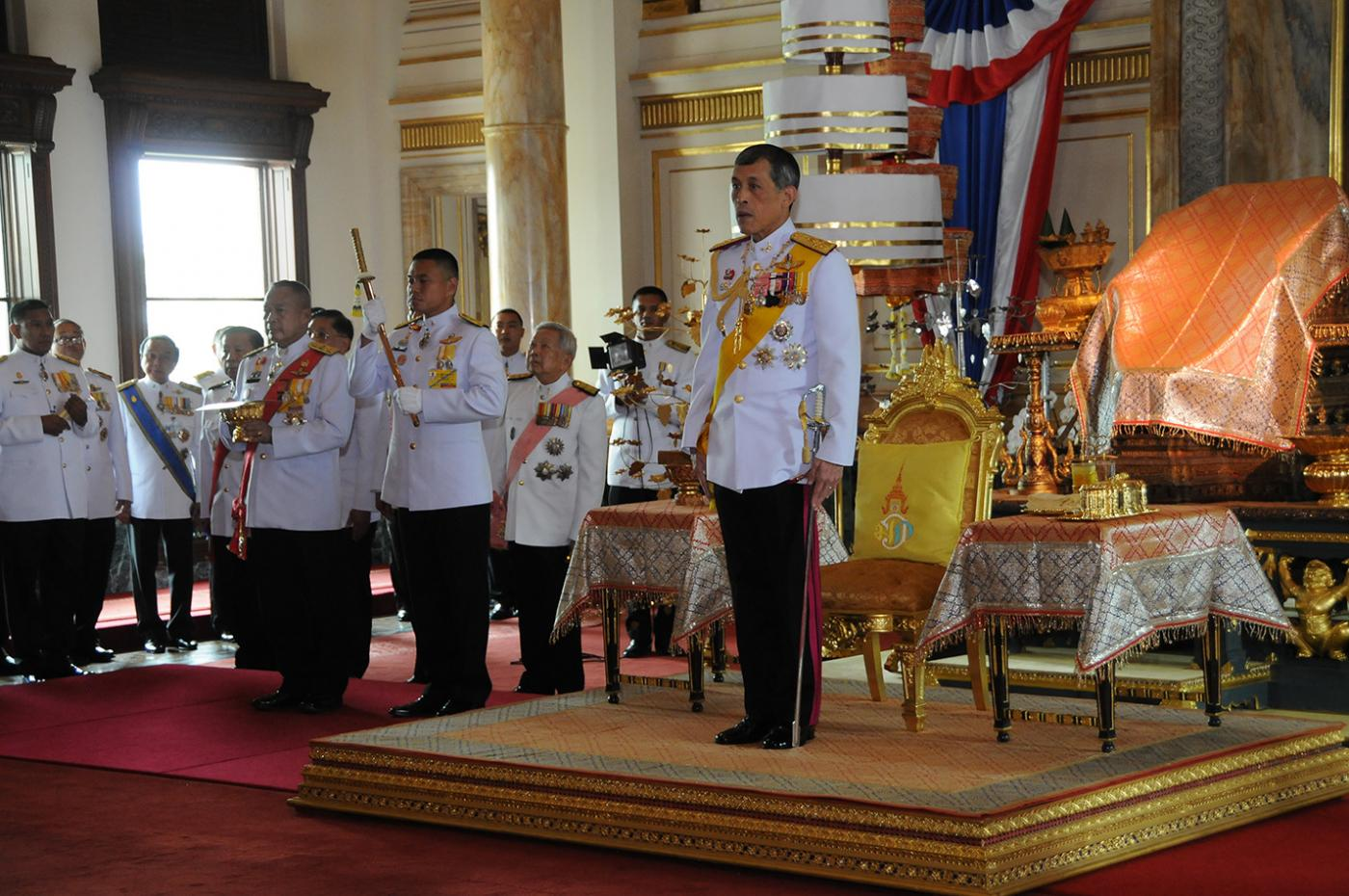 (WORLD SECTION) THAILAND-BANGKOK-INAUGURATION CEREMONY by .