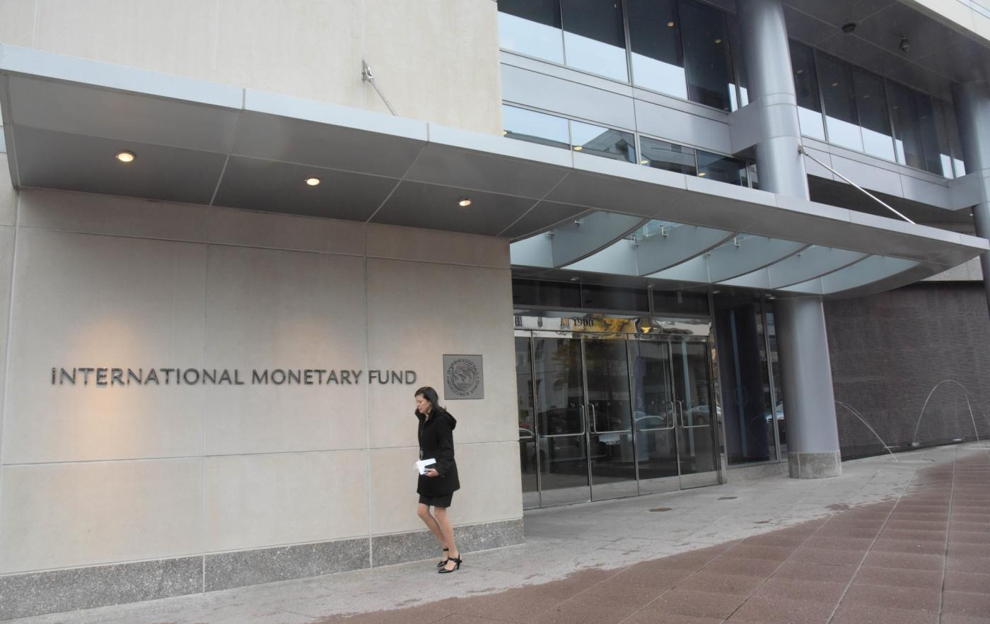 International Monetary Fund (IMF). (File Photo: IANS) by .