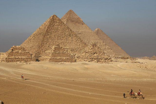 EGYPT-GIZA-PYRAMIDS-TOURISM by .