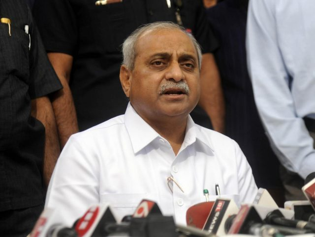 Gandhinagar: Gujarat Deputy Chief Minister Nitin Patel talks to the press after assuming charge as a cabinet minister in Gandhinagar on Dec 31, 2017. He assumed charge, shortly after Shah made the promise to the seven-time MLA who revolted after the portfolios of Finance, Petrochemicals and Urban Development were snatched from him and he was given ministries of lesser importance, including Health and Family Welfare. (Photo: IANS) by .