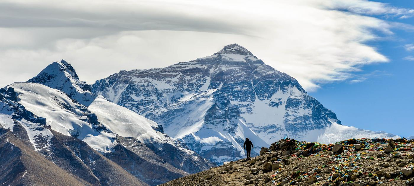 CHINA-TIBET-MOUNT EVEREST-SCENERY (CN) by .