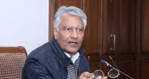 Chandigarh: Punjab Pradesh Congress Committee (PPCC) President Sunil Jakhar addresses a press conference in Chandigarh, on Jan 16, 2019. (Photo: IANS) by .