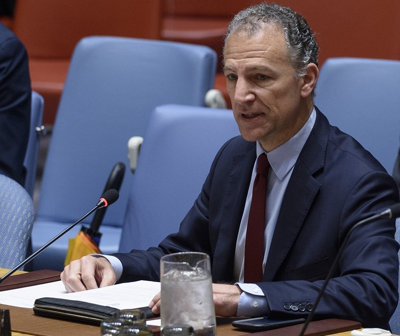 Jonathan Cohen, the Acting Permanent Representative of the United States to the United Nations. (Photo: UN/IANS) by .