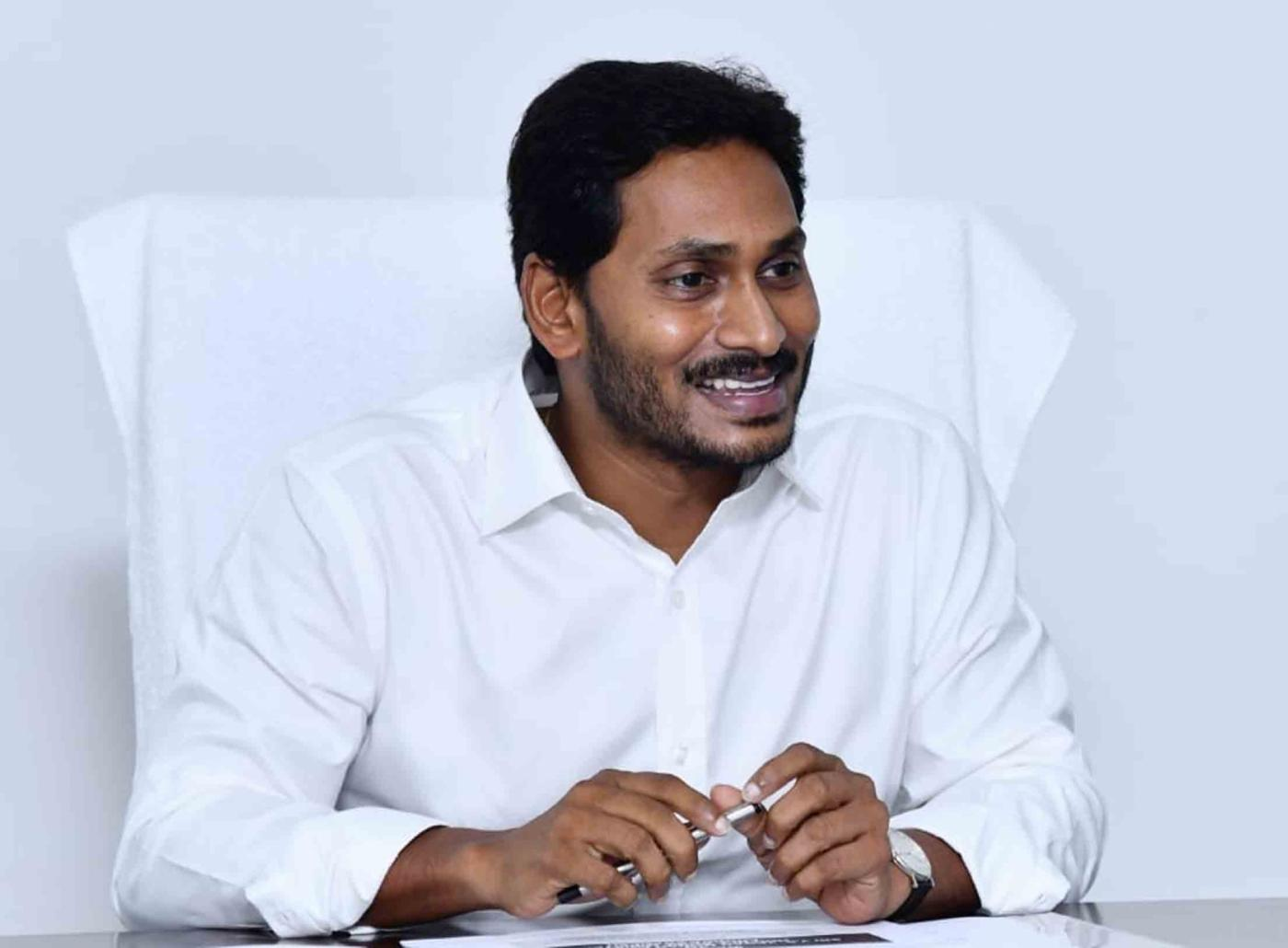 Amravathi: Andhra Pradesh Chief Minister Y. S. Jagan Mohan Reddy chairs a review meeting with the Finance and Revenue Department, in Amravathi on June 1, 2019. (Photo: IANS) by .
