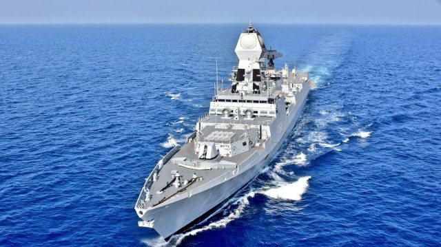 IndianNavy executes 'Operation Sankalp' - Deploys INS Chennai & INS Sunayna in the Gulf of Oman, to re-assure Indian Flagged Vessels operating/ transiting through Persian Gulf & Gulf of Oman following the maritime security incidents in the region; on June 20, 2019. In wake of suspected attacks on two merchant ships in the Persian Gulf and Gulf of Oman region, the Indian Navy launched
