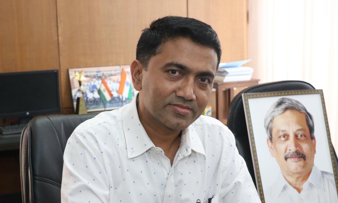 Pramod Sawant. (File Photo: IANS) by .