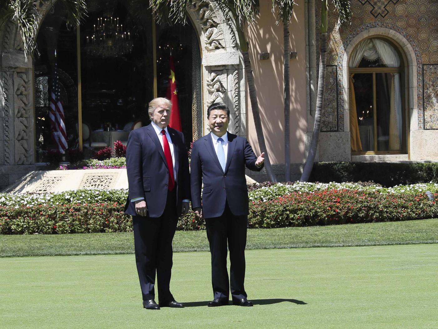 U.S.-CHINA-XI JINPING-TRUMP-TALKS by .