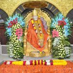 A Statue of Sai Baba during the ongoing 95th 'punyatithi' of Saibaba in Shirdi on Oct.13, 2013. (Photo:IANS) by .