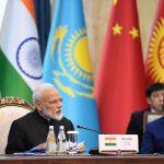 Bishkek: Prime Minister Narendra Modi at the delegation level meeting of the 2019 Shanghai Cooperation Organization (SCO) Summit in Bishkek, Kyrgyzstan on June 14, 2019. (Photo: IANS/PIB) by .