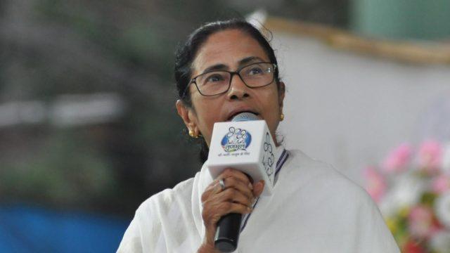Kolkata: West Bengal Chief Minister Mamata Banerjee campaigns for Mimi Chakraborty, Trinamool Congress (TMC) candidate for Jadavpur Lok Sabha seat during a party rally in Kolkata on May 14, 2019. (Photo: Kuntal Chakrabarty/IANS) by .