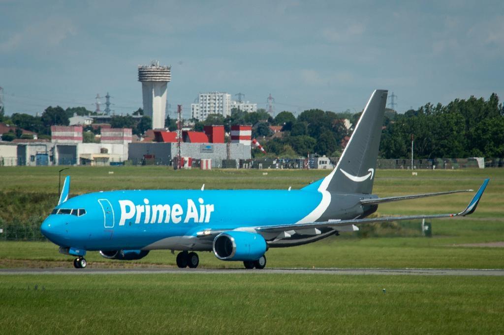 Amazon Air fleet. (Photo: Twitter/@amazonnews) by .