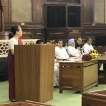 New Delhi: Congress leader Sonia Gandhi during Congress Parliamentary Party (CPP) meeting at Parliament in New Delhi on June 1, 2019. (Photo: Twitter/@rssurjewala) by .