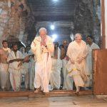 Thiruvananthapuram: Prime Minister Narendra Modi offers prayers at Sree Padmanabha Swamy Temple in Thiruvananthapuram, Kerala on Jan 15, 2019. Also seen Kerala Governor Justice (Retd.) P. Sathasivam. (Photo: IANS/PIB) by .