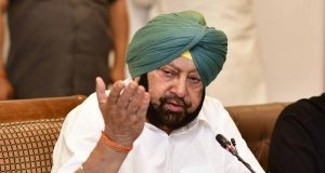 Chandigarh: Punjab Chief Minister Captain Amarinder Singh addresses a press conference in Chandigarh, on May 23, 2019. (Photo: IANS) by .