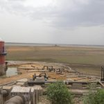 Chennai: A view of the dried out Puzhal reservoir on the outskirts of Chennai, on June 20, 2019. Chennai and several other places in Tamil Nadu are suffering from water shortage. The ground water levels too have gone down owing to lack of rains. (Photo: IANS) by .