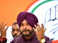 New Delhi: Punjab Minister and Congress leader Navjot Singh Sidhu addresses a press conference in New Delhi, on April 20, 2019. (Photo: IANS) by .