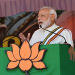 Guruvayoor: Prime Minister Narendra Modi addresses a public meeting in Guruvayoor, Kerala on June 8, 2019. (Photo: IANS) by .
