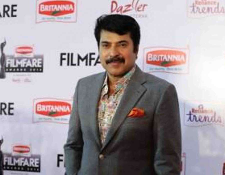 Actor Mammootty. by .