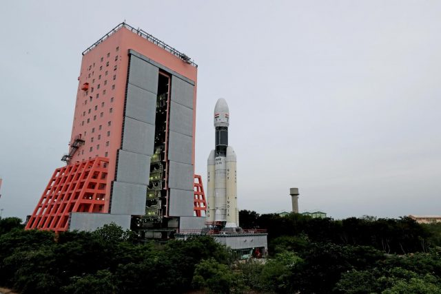 Sriharikota: The first images of 'Baahubali', India's heaviest rocket GSLV MkIII-M, were released by ISRO on Wednesday ahead of India's second moon mission 'Chandrayaan-2', which is scheduled to launch on July 15 from Sriharikota in Andhra Pradesh. The three-stage vehicle will carry Chandrayaan-2 to its designated orbit. by .