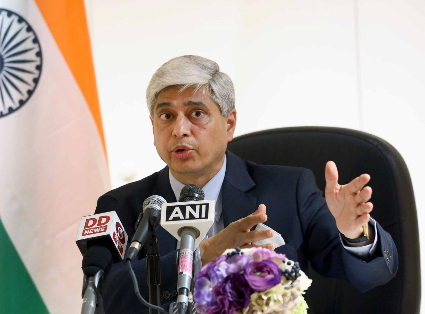 External Affairs Ministry spokesperson Vikas Swarup. (File Photo: IANS/MEA) by .