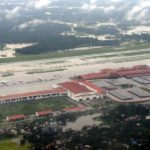 Kochi: An aerial view of flooded Kochi Airport, Kerala on Aug 9, 2019. (Photo: IANS) by .
