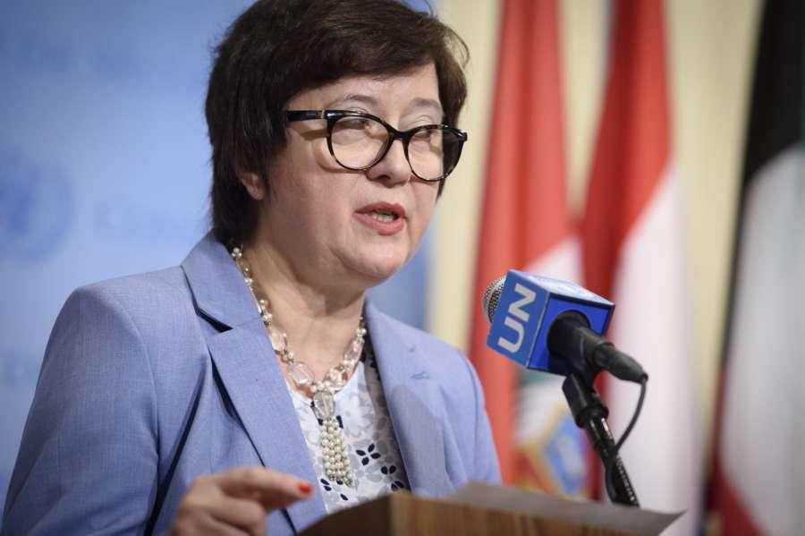Security Council President Joanna Wronecka (Photo: UN/IANS) by .