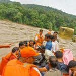 Pathanamthitta: NDRF personnel carry out rescue operations in Kerala's flood affected Pathanamthitta on Aug 10, 2019. (Photo: IANS/NDRF) by .