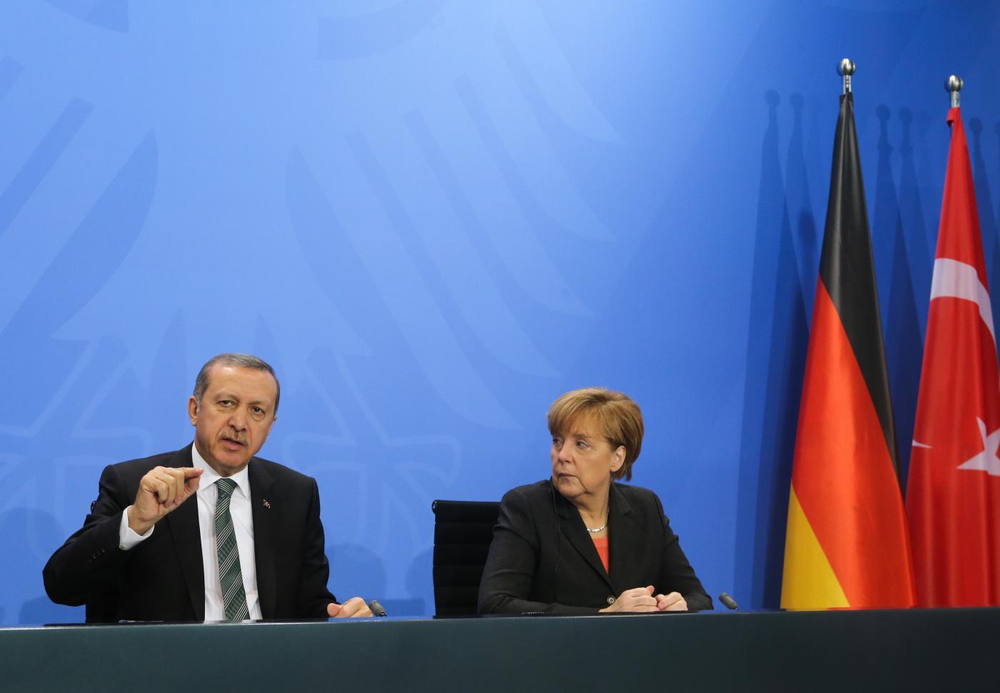 GERMANY-BERLIN-TURKEY-MEETING by .