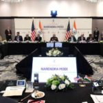 Houston: The Prime Minister, Shri Narendra Modi in a meeting with the CEOs from the energy sector, in Houston, USA on September 21, 2019. (Photo: IANS/PIB) by .
