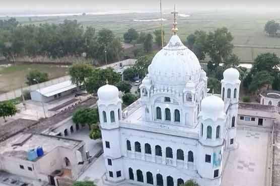 Kartarpur Sahib Gurudwara. by .