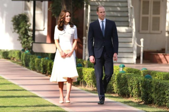 New Delhi: Prince William and Kate Middleton, the Duke and Duchess of Cambridge at Gandhi Smriti in New Delhi, on April 11, 2016. (Photo: Amlan Paliwal/IANS) by .