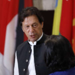 UNITED NATIONS, Sept. 25, 2019 (Xinhua) -- Pakistani Prime Minister Imran Khan attends a luncheon hosted by UN Secretary-General Antonio Guterres for the Heads of Delegation to the 74th Session of the United Nations General Assembly, at the UN headquarters in New York, Sept. 24, 2019. (Xinhua/Li Muzi/IANS) by Li Muzi.